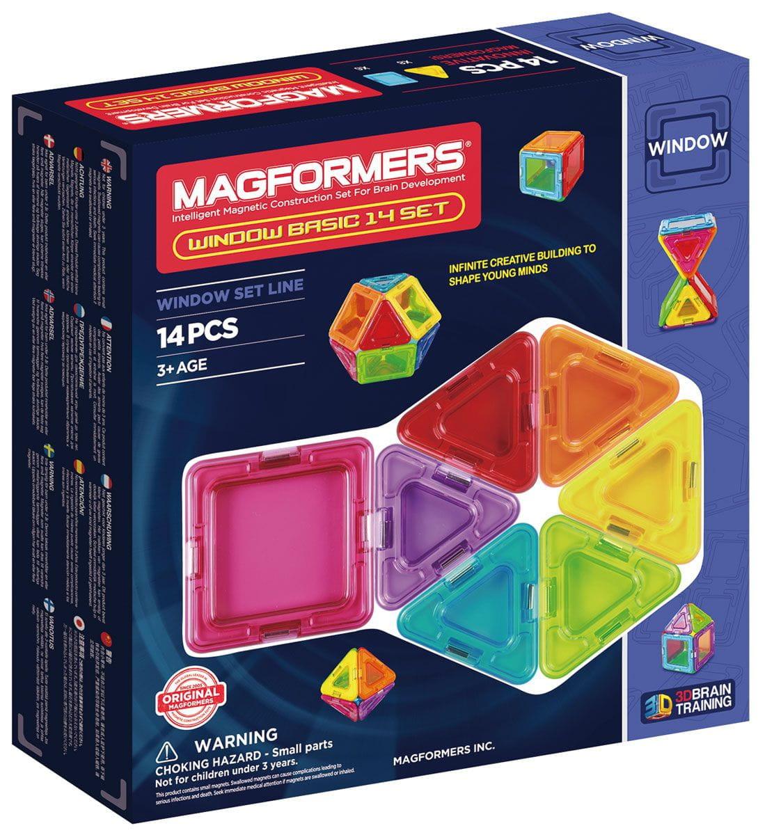 Магнитный конструктор Magformers 714001 Window Basic set (14 деталей)
