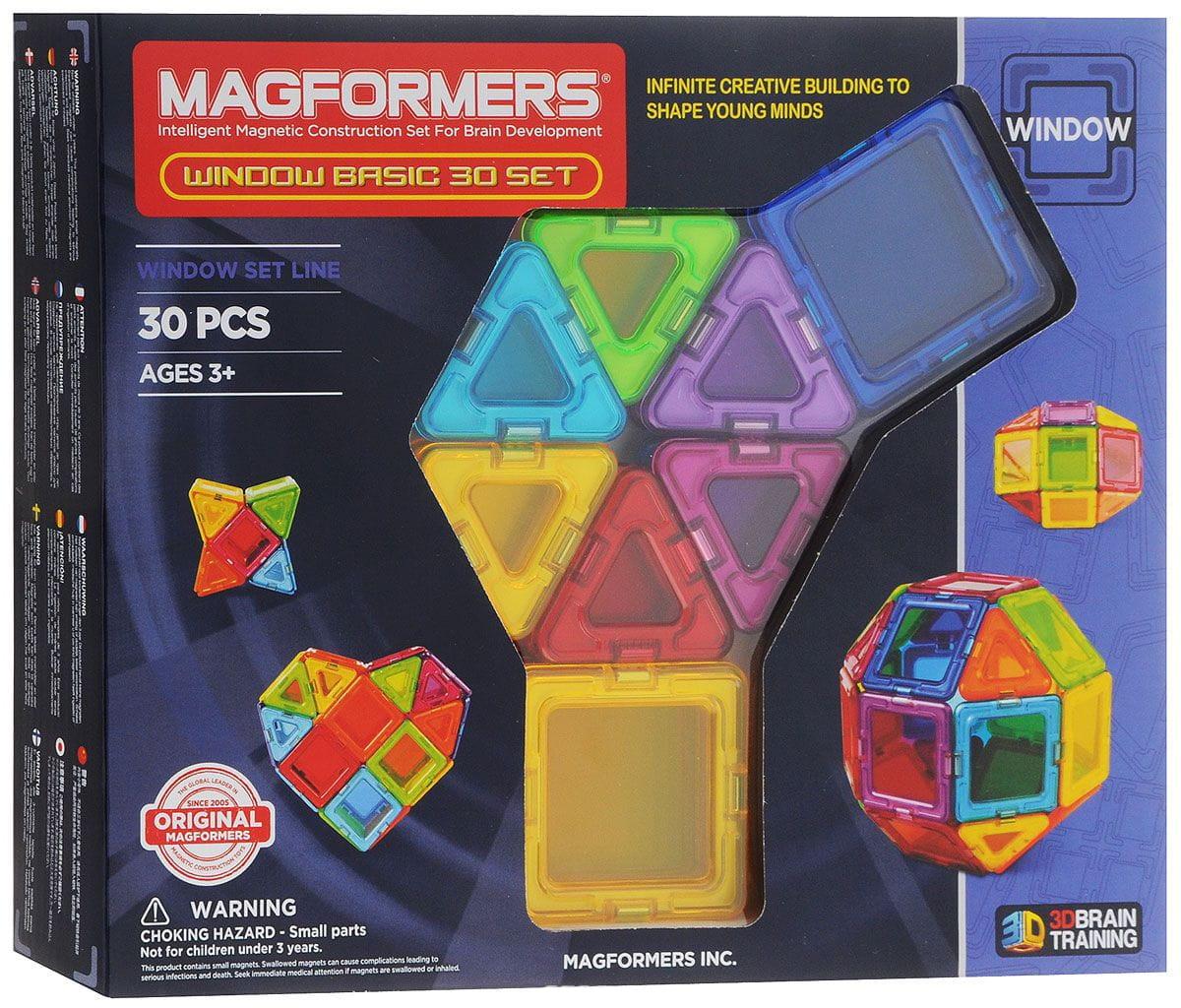Магнитный конструктор Magformers 714002 Window Basic set (30 деталей)