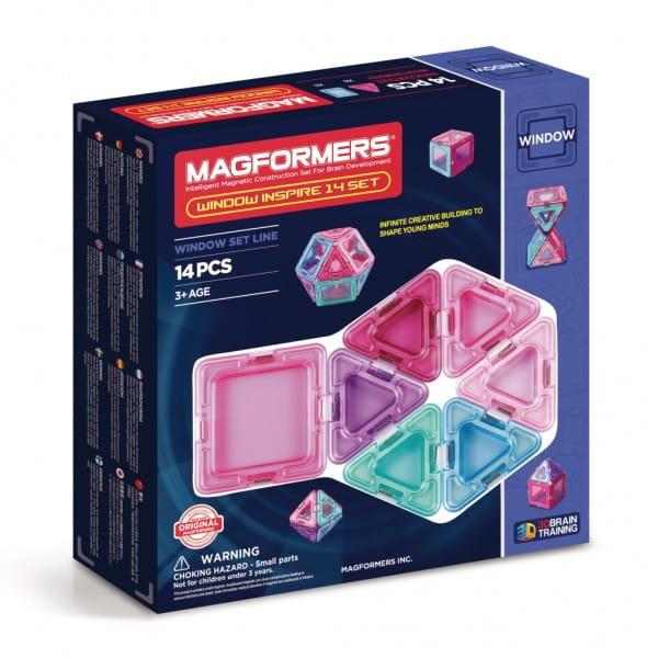 Купить Магнитный конструктор Magformers Window Inspire set (14 деталей) в интернет магазине игрушек и детских товаров