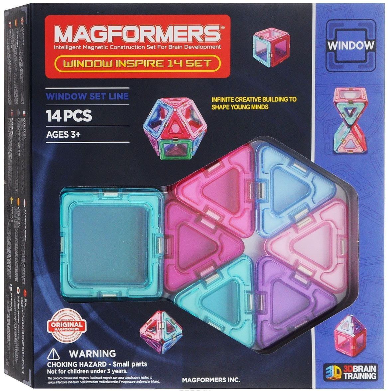 Магнитный конструктор Magformers 714003 Window Inspire set (14 деталей)