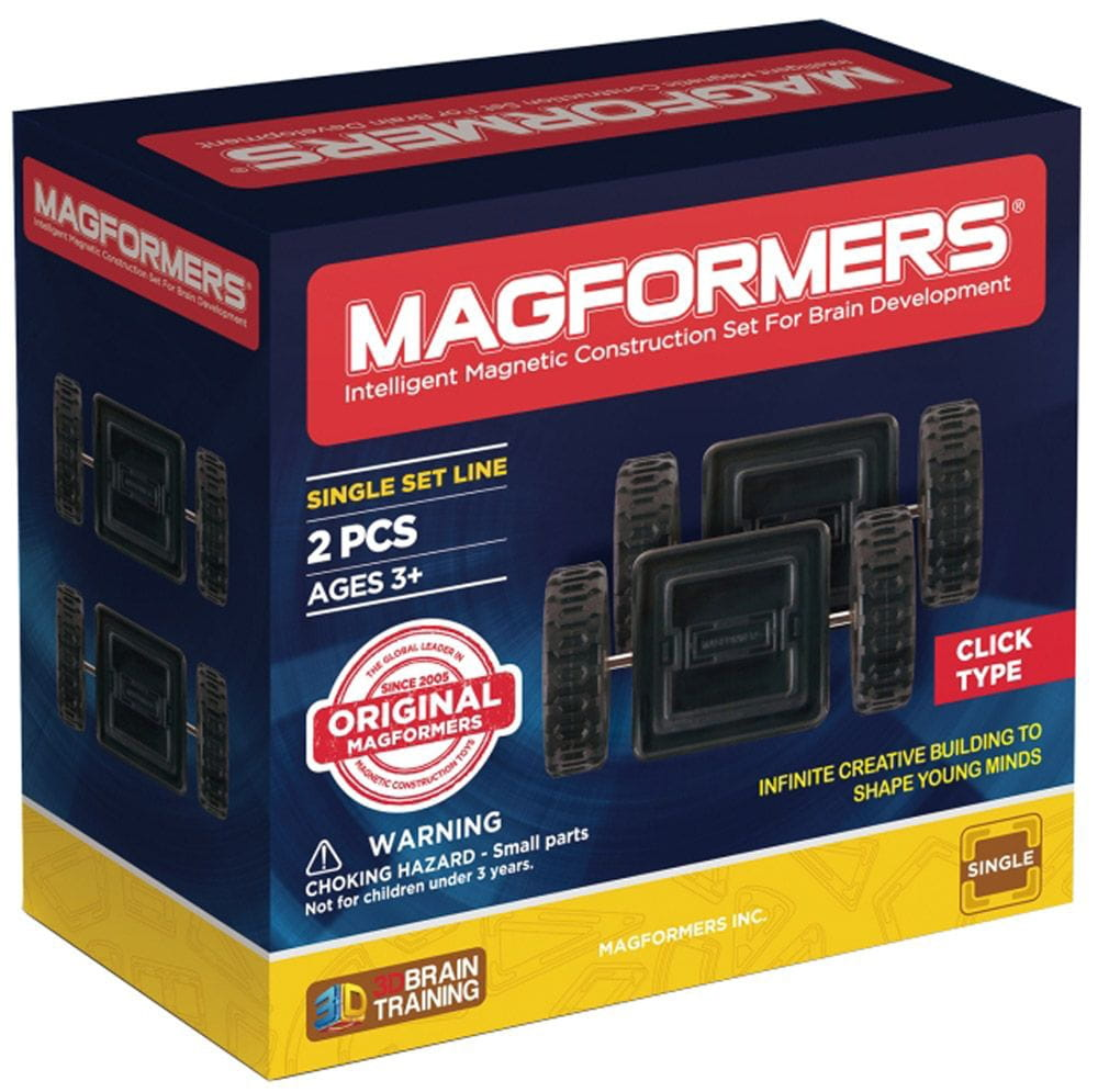 Набор деталей Magformers 713009 Click Wheels (2 штуки)