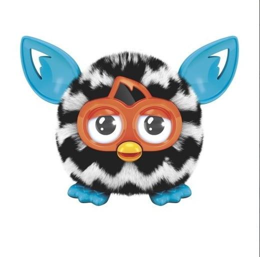 Интерактивная игрушка Furby Furblings Ферблинг Черно-Белый зигзаг (Hasbro)