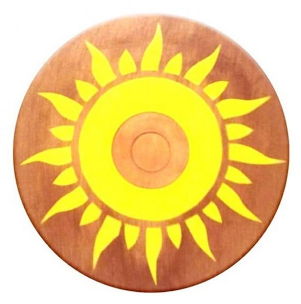 Деревянный круглый щит ЯиГрушка