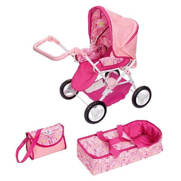 Купить Коляска для Baby born Делюкс Deluxe 3 в 1 (Zapf Creation) в интернет магазине игрушек и детских товаров