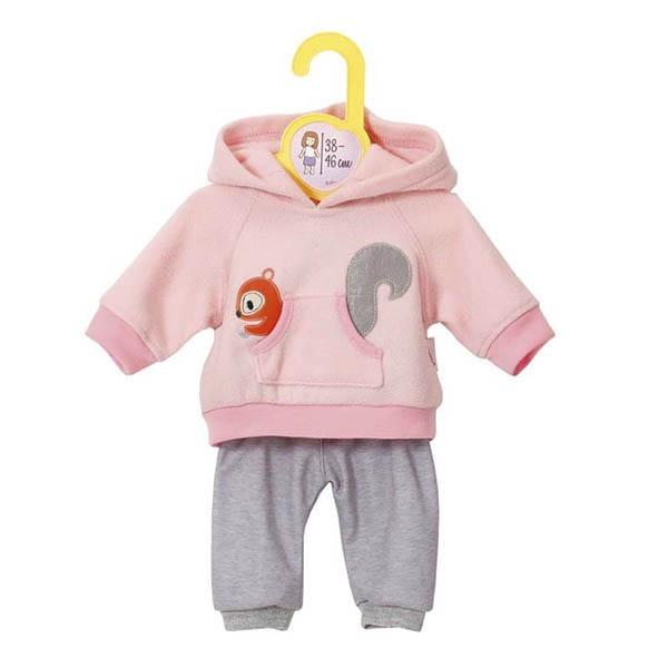 Купить Одежда Zapf Creation для кукол высотой 38-46 см - розовая (на вешалке) в интернет магазине игрушек и детских товаров