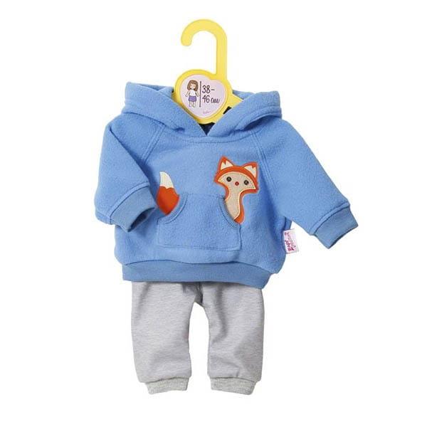Купить Одежда Zapf Creation для кукол высотой 38-46 см - голубая (на вешалке) в интернет магазине игрушек и детских товаров