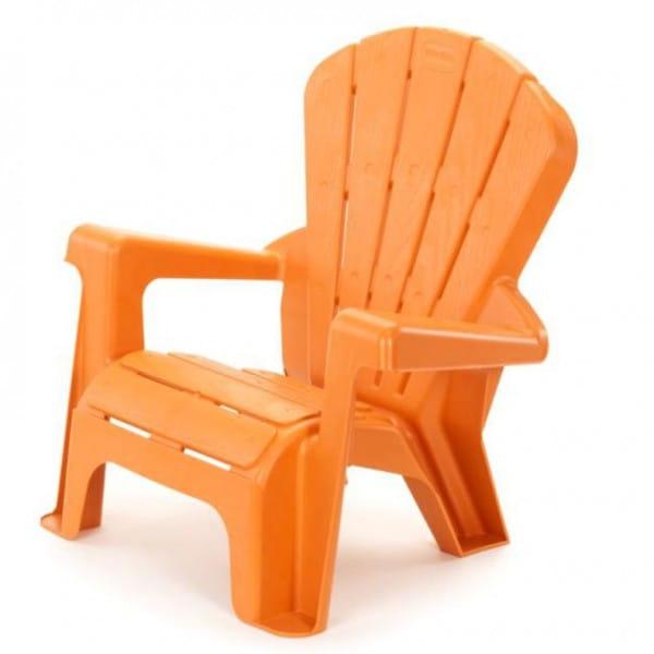 Стульчик садовый Little Tikes - оранжевый