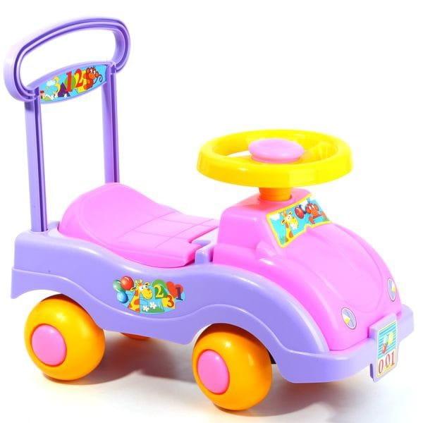 Купить Каталка Стром Автомобиль для девочек в интернет магазине игрушек и детских товаров