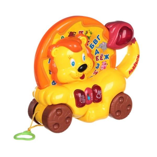 Каталка-обучалка Joy Toy Львенок (Play Smart)