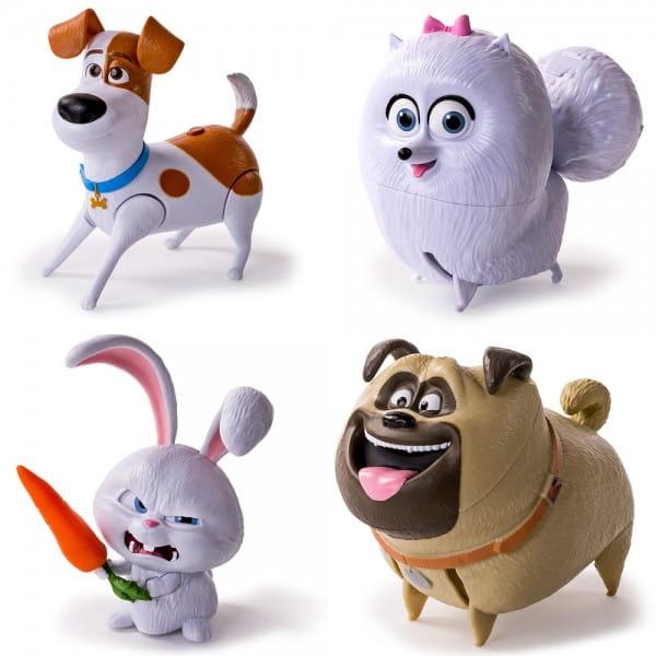 Купить Фигурка Secret Life of Pets Тайная жизнь домашних животных со звуковыми эффектами в интернет магазине игрушек и детских товаров