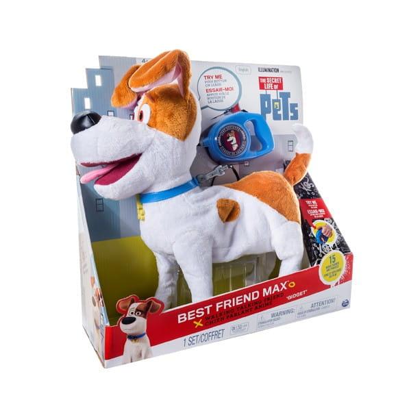 Купить Интерактивная игрушка Secret Life of Pets Тайная жизнь домашних животных Плюшевый Макс в интернет магазине игрушек и детских товаров