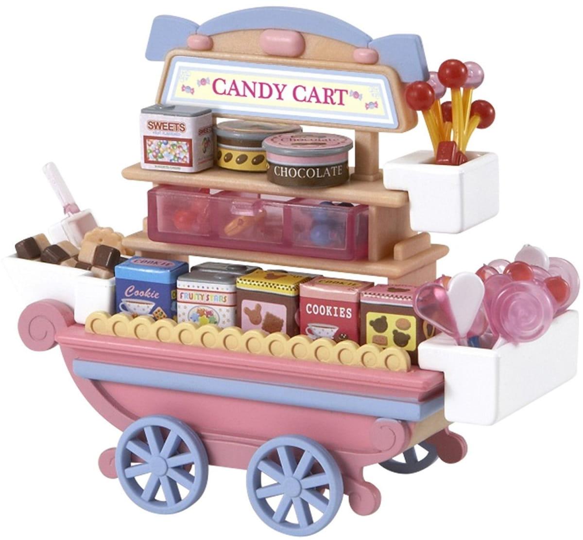 Игровой набор Sylvanian Families Тележка со сладостями