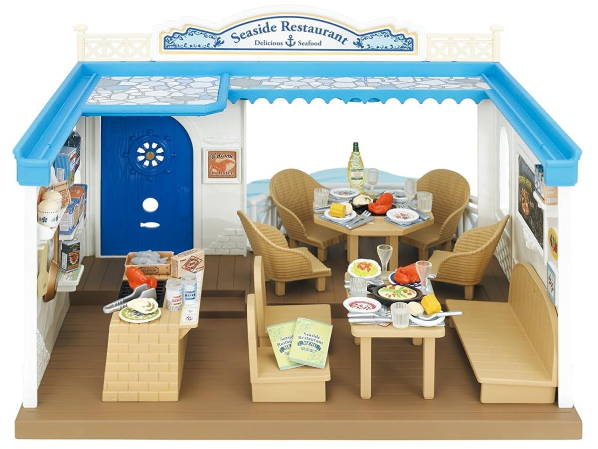 Игровой набор Sylvanian Families 4190 Морской ресторан