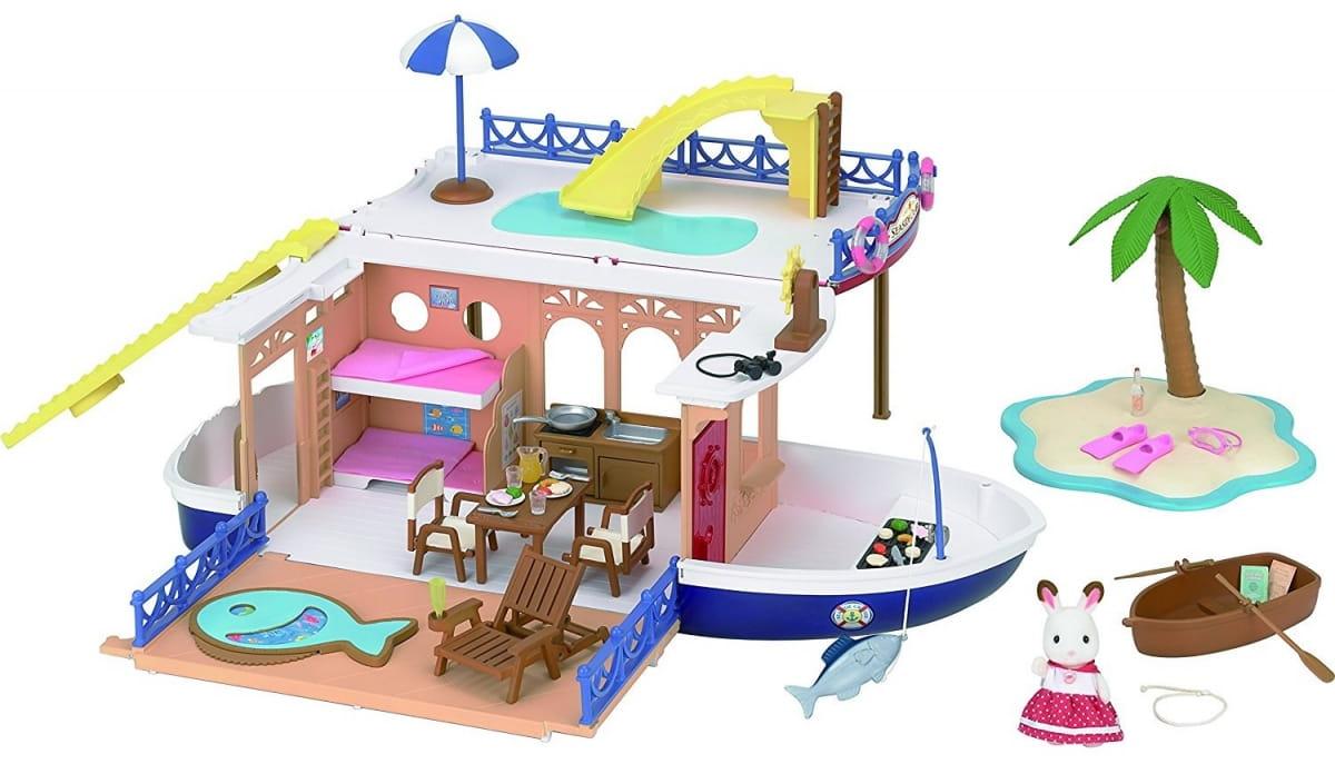 Игровой набор Sylvanian Families 5206 Круизный корабль