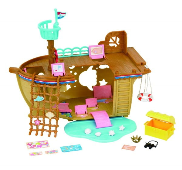 Игровой набор Sylvanian Families Детская площадка Сокровища морей