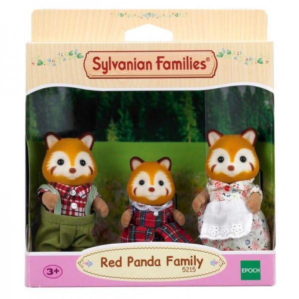 Игровой набор Sylvanian Families Семья красных панд (3 фигурки)