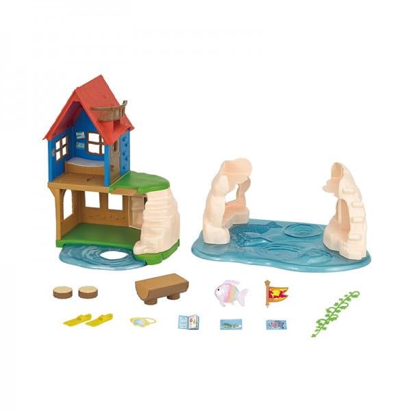 Игровой набор Sylvanian Families Домик на рифе