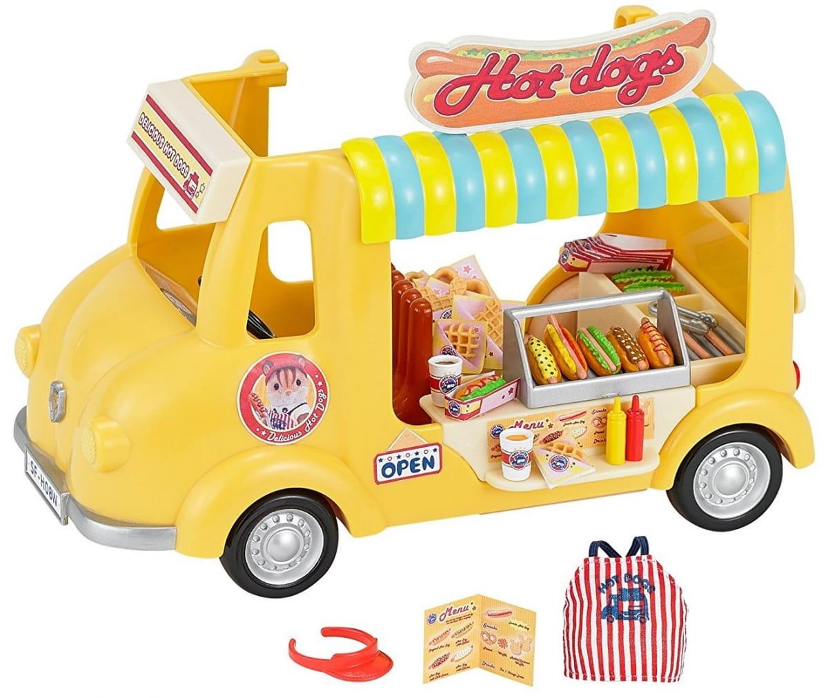 Игровой набор Sylvanian Families 5240 Фургон с хот-догами