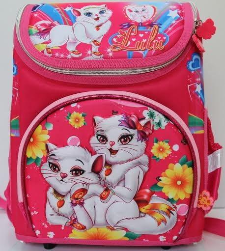 Ортопедический ранец-рюкзак Edu-Play Кошечки