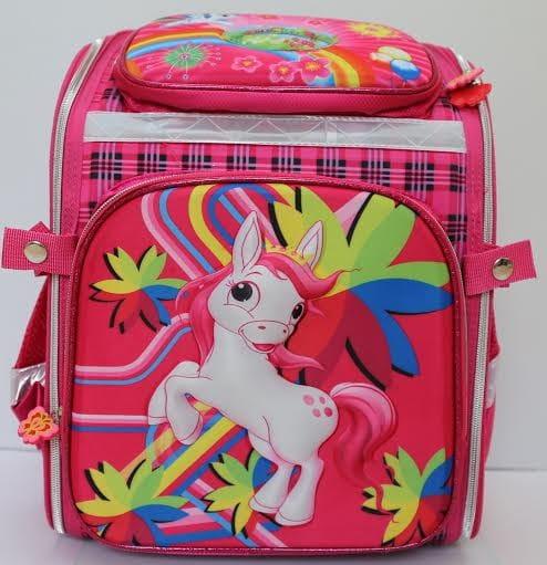 Купить Ортопедический ранец-рюкзак Edu-Play Лошадка в интернет магазине игрушек и детских товаров
