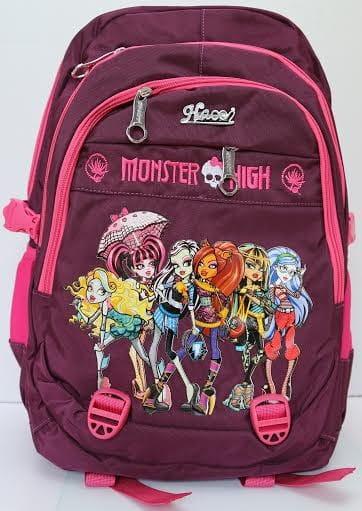 Ортопедический ранец-рюкзак Edu-Play Школа Монстров лиловый