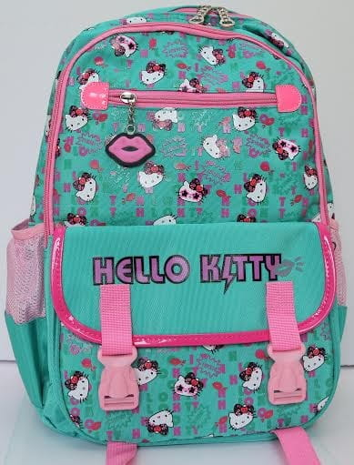 Купить Ортопедический ранец-рюкзак Edu-Play Hello Kitty - бирюзовый в интернет магазине игрушек и детских товаров