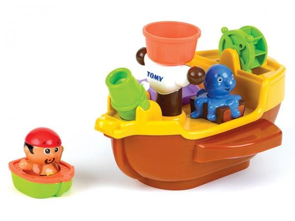 Игрушка для ванны Tomy Bath Пиратский корабль
