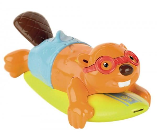 Игрушка для ванны Tomy Bath Бобер-серфингист