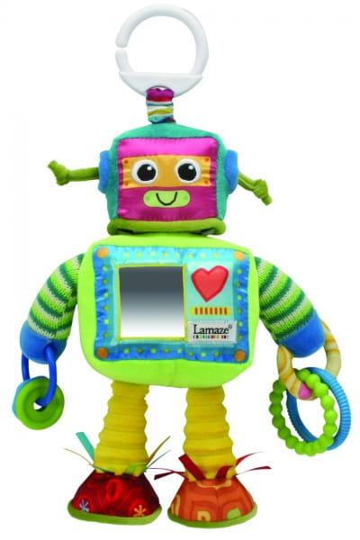 Погремушка Tomy Lamaze Робот Расти c прорезывателем