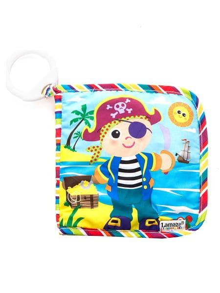 Книжка для малышей Tomy LC27915 Lamaze Пират Пит (с подвеской)