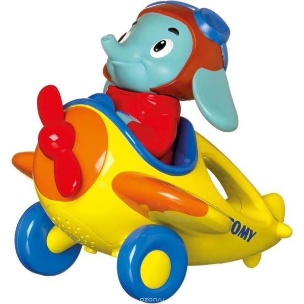 Развивающая игрушка Tomy Toys Веселые виражи летчика Люка