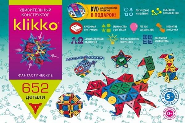 Конструктор Знаток Klikko - 652 детали