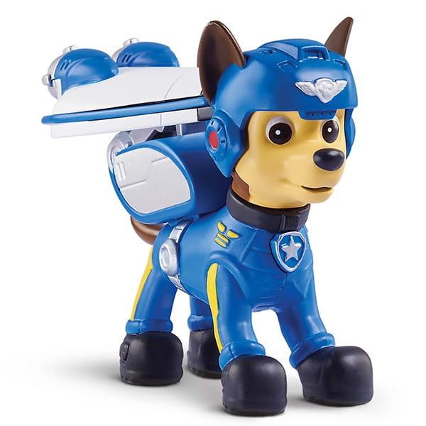 Купить Игровой набор Paw Patrol Щенячий Патруль Фигурка спасателя со съемным рюкзаком Воздушные спасатели - Гонщик в интернет магазине игрушек и детских товаров