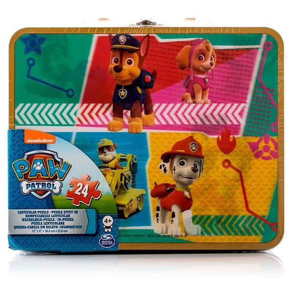 Купить Голографический пазл Paw Patrol Щенячий Патруль Команда щенков-спасателей - 24 элемента (Spin Master) в интернет магазине игрушек и детских товаров