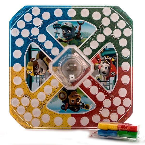 Настольная игра Paw Patrol 6028799 Щенячий Патруль с кубиком и фишками (Spin Master)