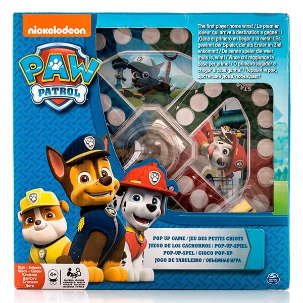Настольная игра Paw Patrol 6028796 Щенячий Патруль с кубиком и фишками 2 (Spin Master)