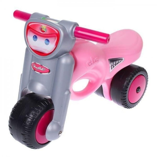 Каталка-мотоцикл Coloma Мини-мото - розовая