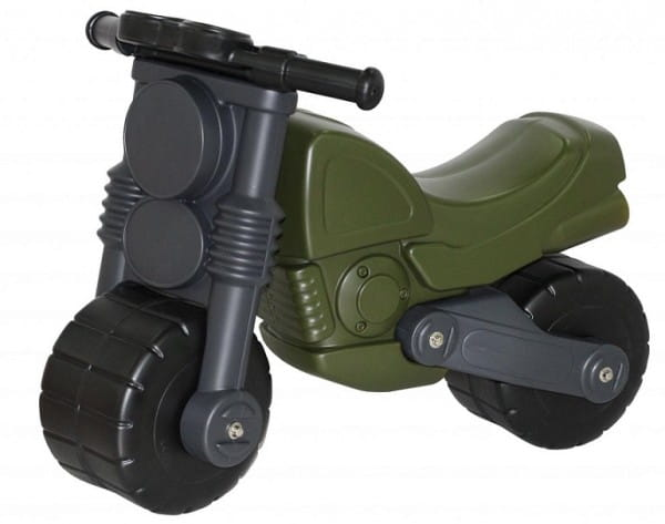 Каталка-мотоцикл Coloma Моторбайк военный