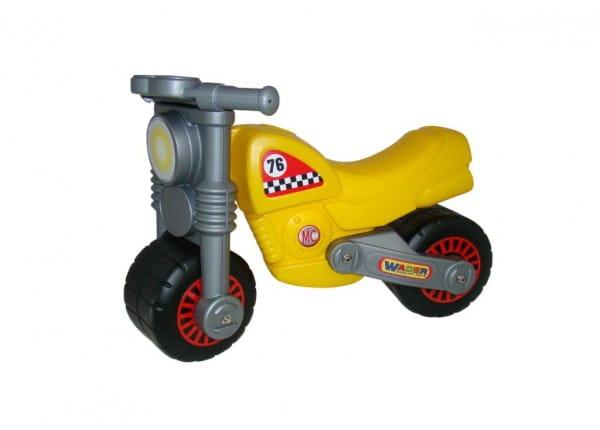 Каталка-мотоцикл COLOMA Моторбайк - желто-серый