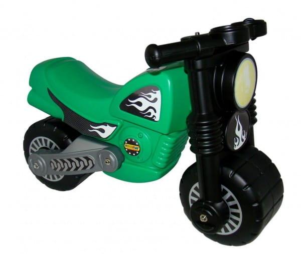 Каталка-мотоцикл Coloma Моторбайк - зеленый