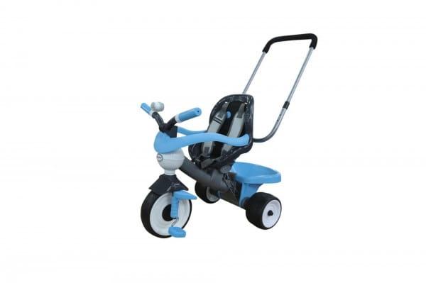 Купить Детский велосипед Coloma Амиго №2 (с ограждением, клаксоном, ручкой, ремешком и мягким сиденьем) в интернет магазине игрушек и детских товаров