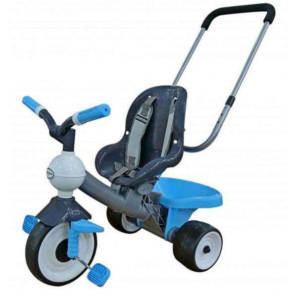 Купить Детский велосипед Coloma Амиго №2 (с ручкой и ремешком) в интернет магазине игрушек и детских товаров