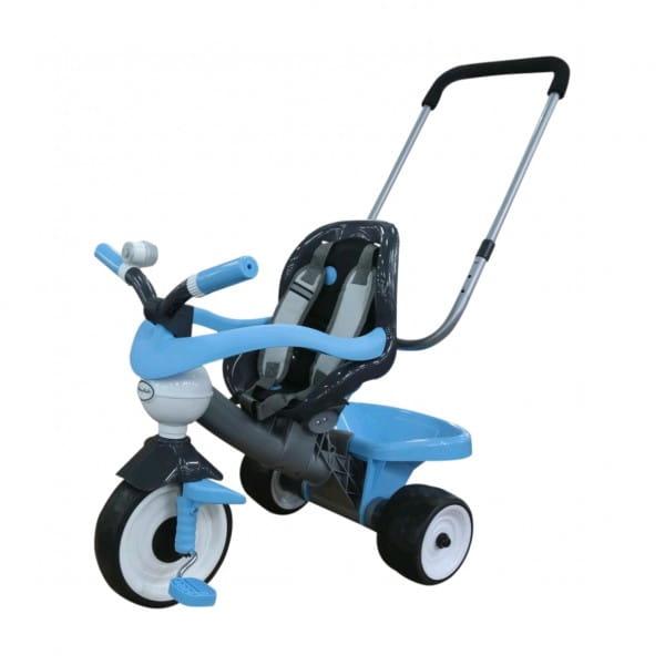 Купить Детский велосипед Coloma Амиго №3 (с ограждением, клаксоном, ручкой, ремешком и мягким сиденьем) в интернет магазине игрушек и детских товаров