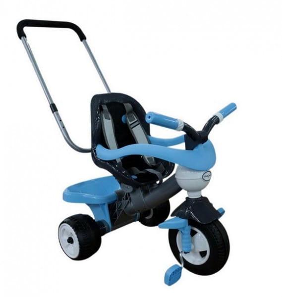 Купить Детский велосипед Coloma Амиго №3 (с ограждением, ручкой, ремешком и мягким сиденьем) в интернет магазине игрушек и детских товаров