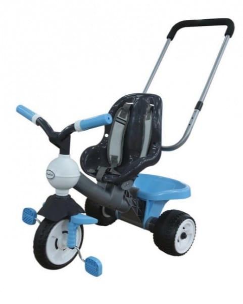 Купить Детский велосипед Coloma Амиго (с ручкой и ремешком) в интернет магазине игрушек и детских товаров