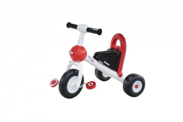 Купить Детский велосипед Coloma Базик (пластмассовые колеса) в интернет магазине игрушек и детских товаров