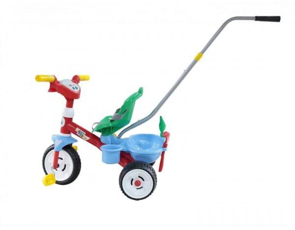 Детский велосипед Coloma 46741_PLS Беби Трайк со звуковым сигналом, ремешком и набором из 2 элементов