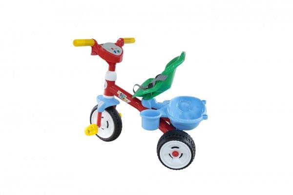 Детский велосипед Coloma 46734_PLS Беби Трайк со звуковым сигналом и ремешком