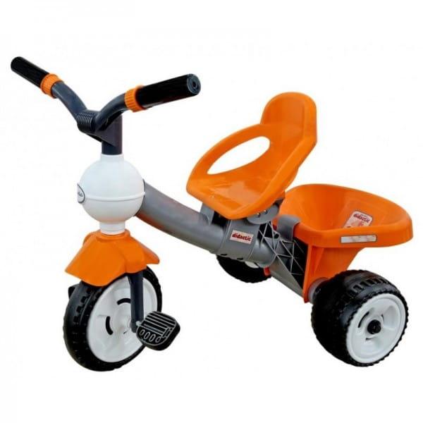 Купить Детский велосипед Coloma Дидактик (пластмассовые колеса) в интернет магазине игрушек и детских товаров