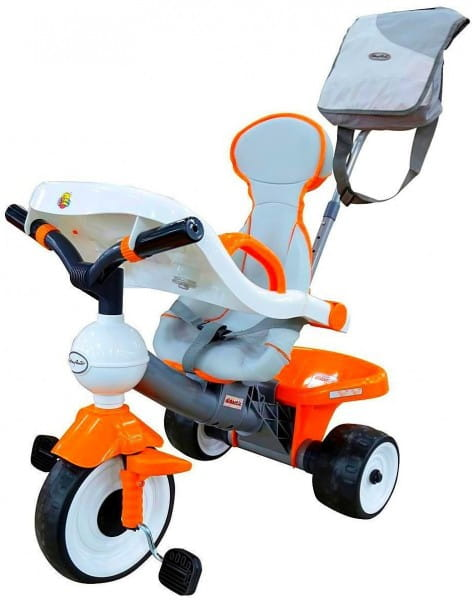 Детский велосипед Coloma Дидактик №2 (с игровой панелью, ручкой, ремешком, чехлом и сумкой)